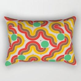 CONNECTED #5 Rectangular Pillow