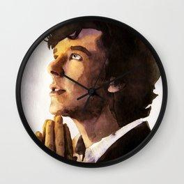 Sherlock 02 Wall Clock