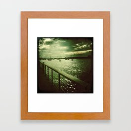 The Hudson Framed Art Print