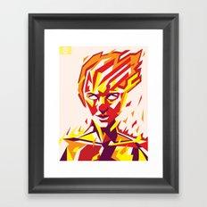 RISE 1 Framed Art Print