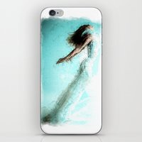 kandinsky iPhone & iPod Skins featuring Soaring!  Digital Print by Mark Compton by Mark Compton