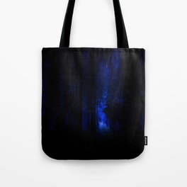 winter night in the magical forest Tote Bag