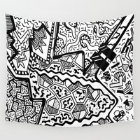 memphis Wall Tapestries featuring Memphis by Andrea Cincotta