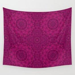 Purple Kaleidoscope. Wall Tapestry