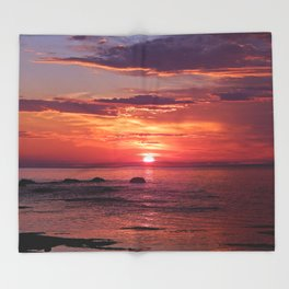 The Flamboyant One Throw Blanket
