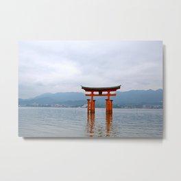 Miyajima Metal Print