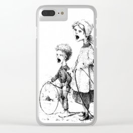 Little Voices Sweetly Calling Clear iPhone Case