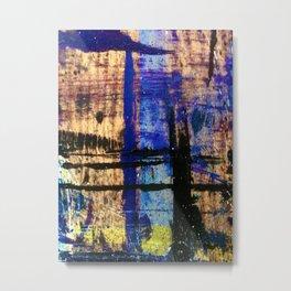 Easel Abstract 5 Metal Print
