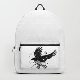 Geometric Crow Backpack