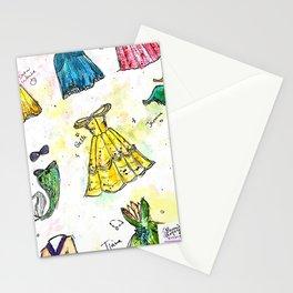 Nail Polish Princesses Stationery Cards