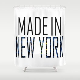 Made In New York Shower Curtain