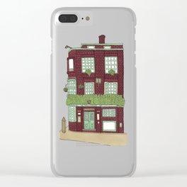 Corner Building Clear iPhone Case