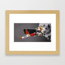 The direction Framed Art Print