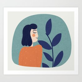 Sunday mornings Art Print