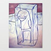 frozen Canvas Prints featuring frozen by starheadboy