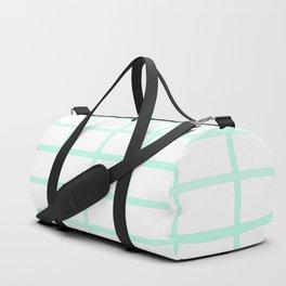 boxy mint Duffle Bag