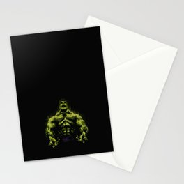 Green power Stationery Cards