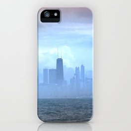 Foggy Skyline #21 iPhone Case