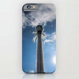 sun melts the ice iPhone Case