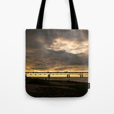 Waiting on the Sun to set Tote Bag