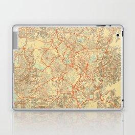 Kuala Lumpur Map Retro Laptop & iPad Skin