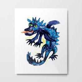 Dragon 1 Metal Print