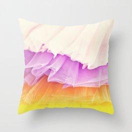 Tutu Candy Throw Pillow