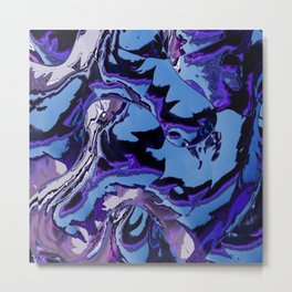 Electrifying Lavender Metal Print