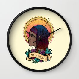Our Lady Michonne Wall Clock