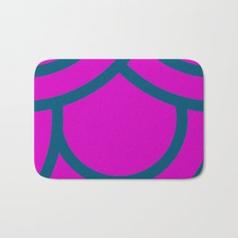 Japanese  Aesthetic Pattern Bath Mat
