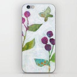 Bollblommor I iPhone Skin