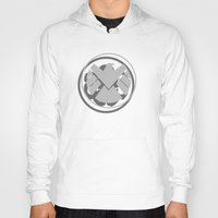 hydra Hoodies featuring Hail Hydra by Geek Bias