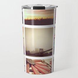New York Scenes Travel Mug