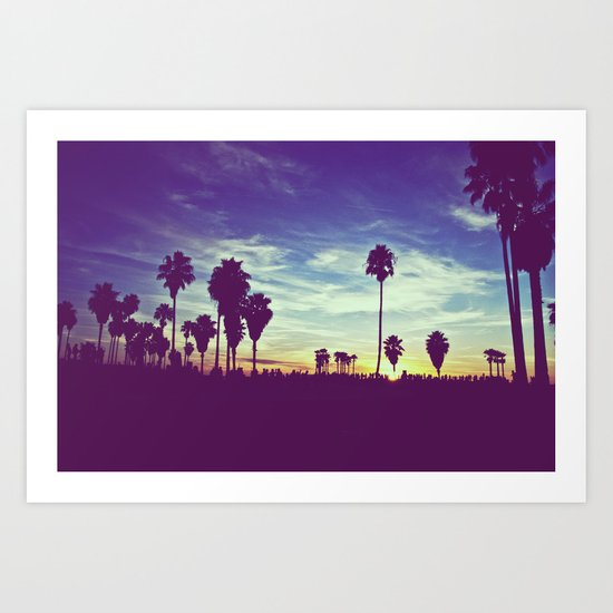 Venice Beach, CA .3 Art Print