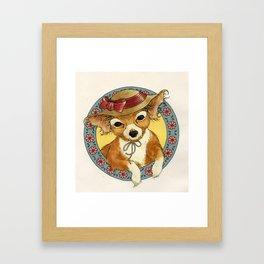your dog Framed Art Print