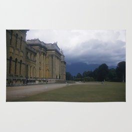 England Vintage Photo * 1950's * Blenheim Palace * Oxfordshire * Kodachrome * Castle * Print Rug