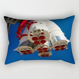 Vintage Spacecraft Engines Rectangular Pillow