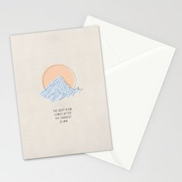 The Best View Stationery Cards