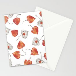 Juicy physalis Stationery Cards