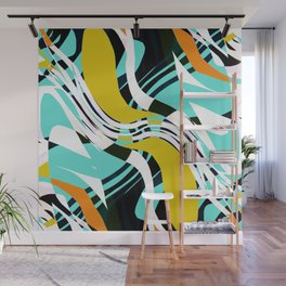 Make Some Noise Multicolored Abstract Wall Mural