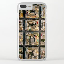 Blocks of Athens Clear iPhone Case