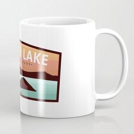 Crater Lake Badge Coffee Mug