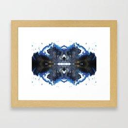 ink hallucinations Framed Art Print