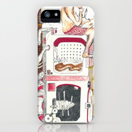 Paitently Waiting for Pants iPhone Case