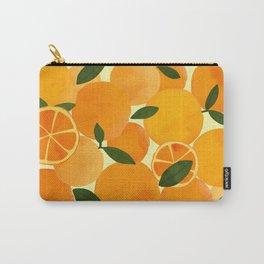 mediterranean oranges still life  Carry-All Pouch
