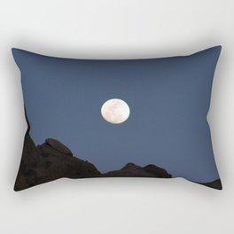 Moon Over the Sandias 6 Rectangular Pillow