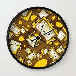 Cute Cartoon Blockimals Lion Pattern Wall Clock