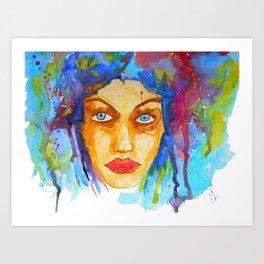 Christelle Art Print