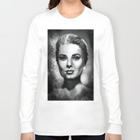 grace Long Sleeve T-shirts featuring Grace by Lily Fitch
