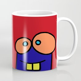 chalkboard wallies square heads Coffee Mug